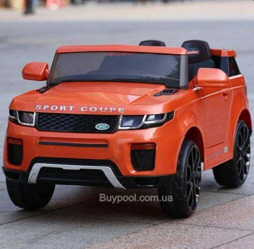 Детский электромобиль T-7832 EVA, Land Rover, ORANGE