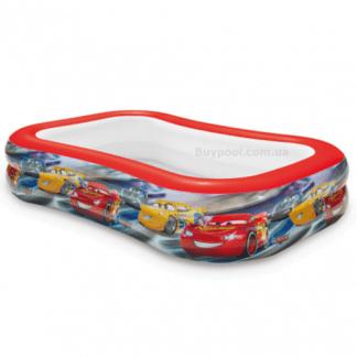 Детский надувной бассейн Intex 57478 «Тачки»