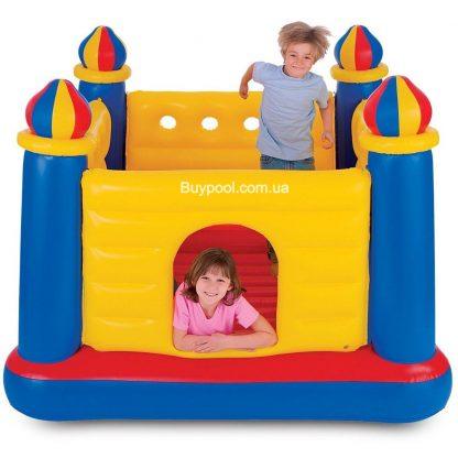 Детский надувной батут Intex 48259 Замок
