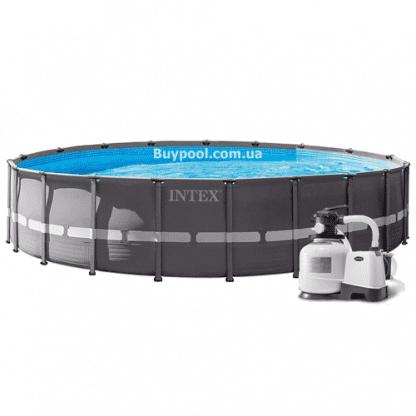 Каркасный бассейн Intex 26334, 610 х 122 см