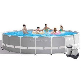 Каркасный бассейн Intex 26756