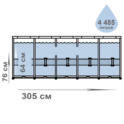 Каркасный бассейн Intex 28206