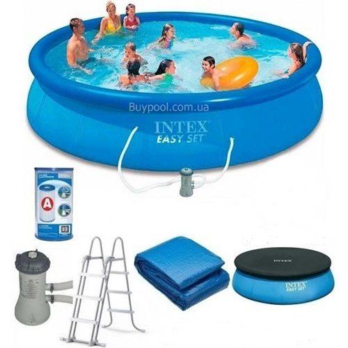 Надувной бассейн Intex 26166