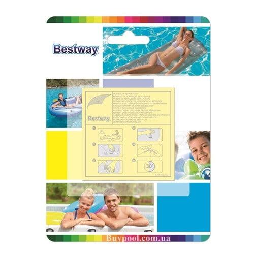 Самоклеющиеся заплаты Bestway 62068