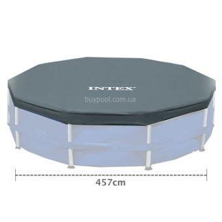 Тент для каркасного бассейна 457 см,Intex 28032